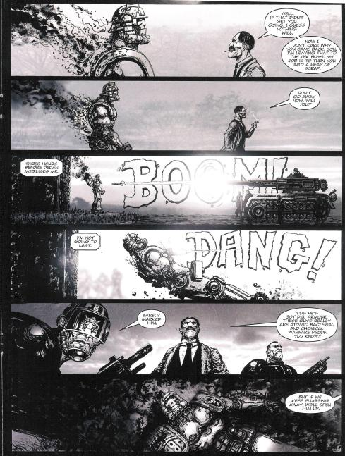 ABC Warriors - Prog 1805 - Script Pat Mills - Art Clint Langley - Copyright Rebellion
