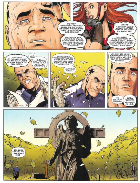 Age of the Wolf - Prog 1776 - Script Alec Worley - Art Jon Davis Hunt - Copyright Rebellion