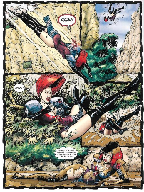 Durham Red - Prog 1785 - Script Alan Grant - Art Carlos Ezquerra - Copyright Rebellion