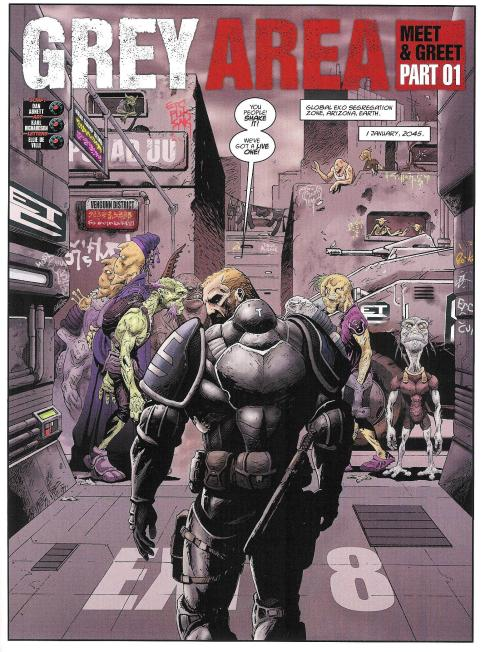 GREY AREA - Prog 2012 - Script Dan Abnett - Art Karl Richardson - Copyright Rebellion