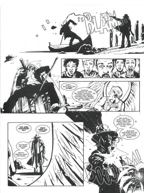 Icabod Azrael - Prog 1799 - Script Rob Williams - Art Antonio Fuso - Copyright Rebellion