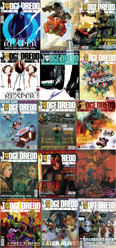 Judge Dredd Megazine 2012 - Art Various Copyright Rebellion