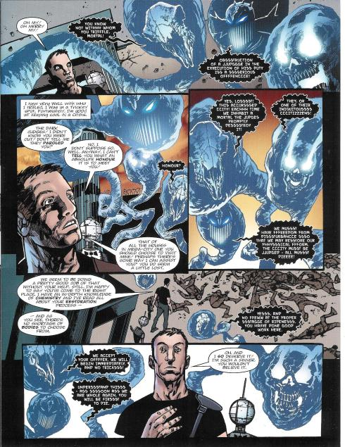 Judge Dredd - Prog 1786 - Script John Wagner - Art Henry Flint - Copyright Rebellion