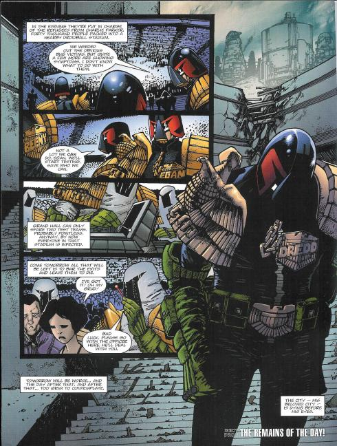 Judge Dredd - Prog 1788 - Script John Wagner - Art Henry Flint - Copyright Rebellion
