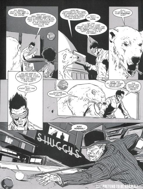 Lenny Zero - Prog 1795 - Script Andy Diggle Art Ben Willsher - Copyright Rebellion