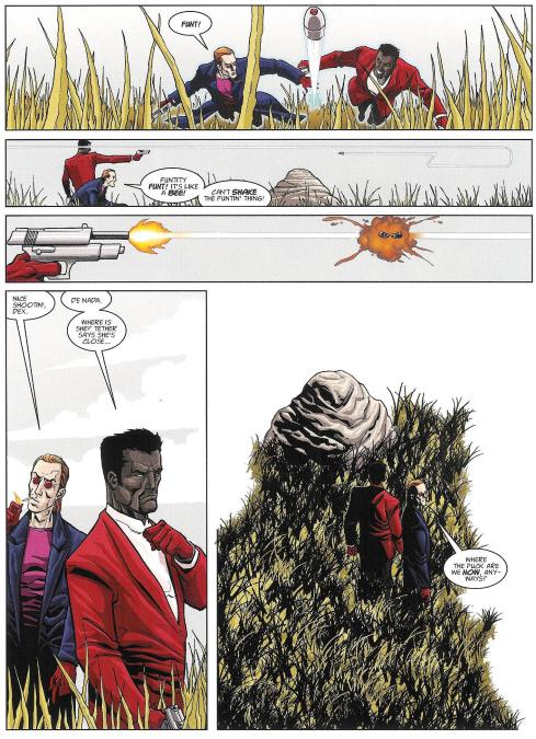 Sinister Dexter - Prog 2012 - Art Anthony Williams - Script Dan Abnett - Copyright Rebellion